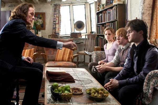 Bill Nighy as Minister of Magic Rufus Scrimgeour