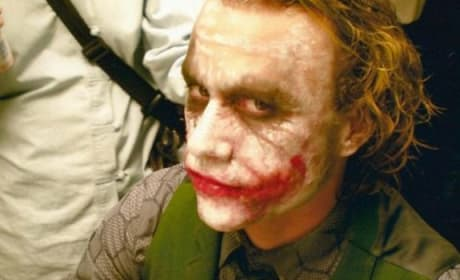 The Dark Knight Heath Ledger Make-Up Chair
