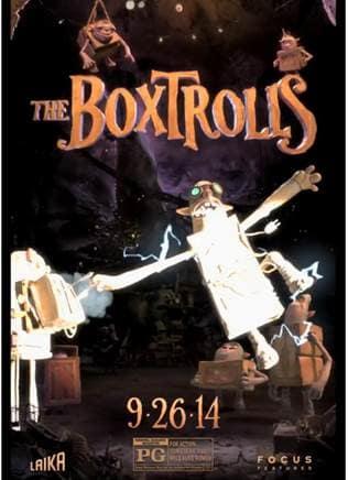 The Boxtrolls Motion Poster