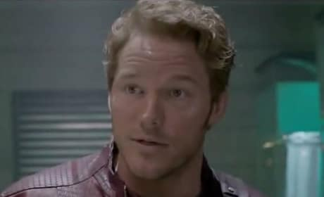 Chris Pratt is Peter Quill in Guardians of the Galaxy