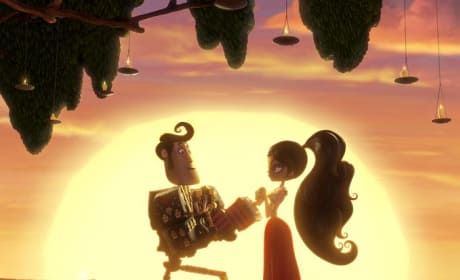 The Book of Life Channing Tatum Zoe Saldana