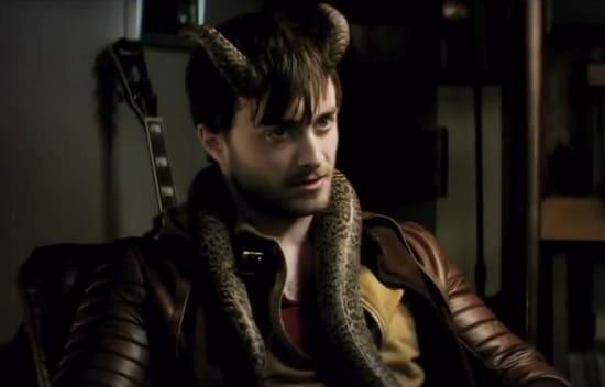 Daniel Radcliffe Stars Horns