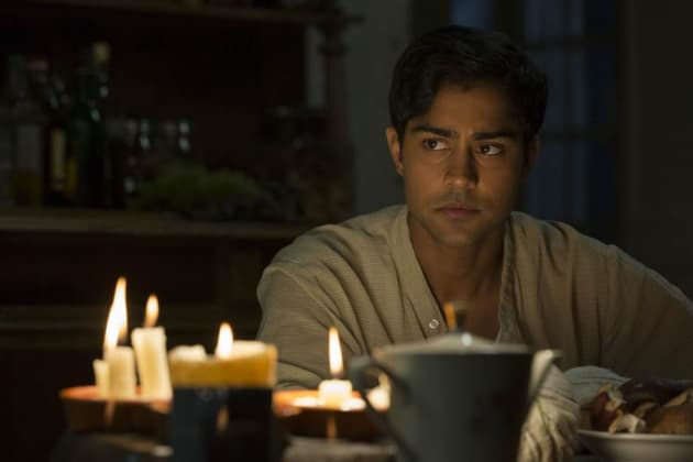 Manish Dayal Studies Hard