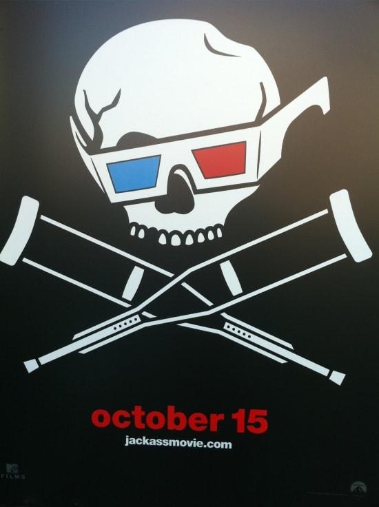 Jackass 3D Teaser Poster
