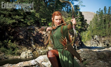 The Hobbit: The Desolation of Smaug Image Previews Female Elf Tauriel