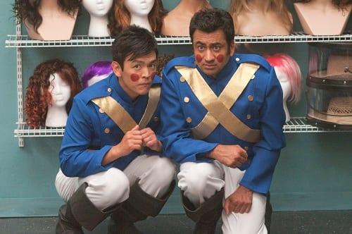 Kal Penn and John Cho in A Very Harold and Kumar 3D Christmas