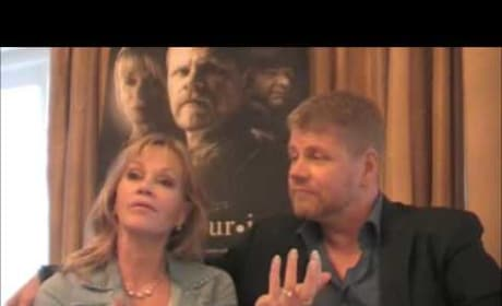 Michael Cudlitz and Melanie Griffith Exclusive Interview
