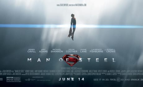 Man of Steel Banner: Superman Soars