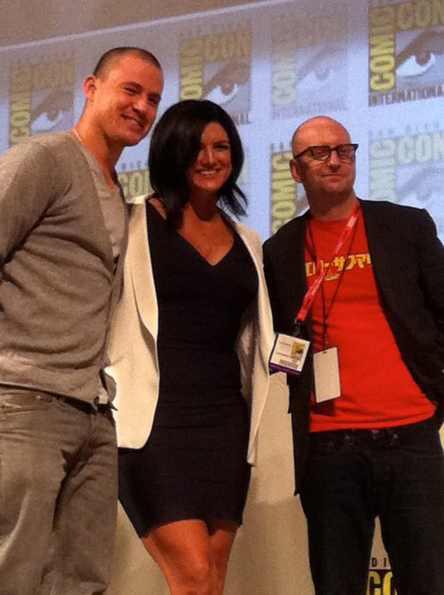 Director Steven Soderbergh and the Cast of Haywire