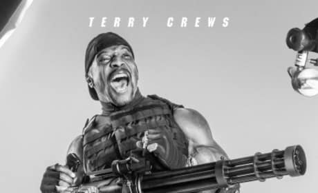 The Expendables 3 Terry Crews Poster