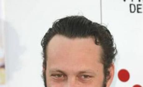 Vince Vaughn with Mustache