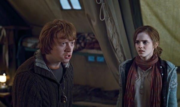 Ron and Hermoine Get Mad