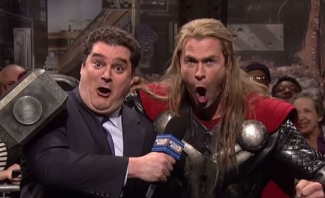 SNL Avengers Age of Ultron Parody: Watch Chris Hemsworth Lampoon Thor!