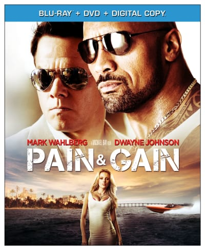 Pain and Gain DVD