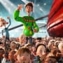 James McAvoy is Arthur in Arthur Christmas