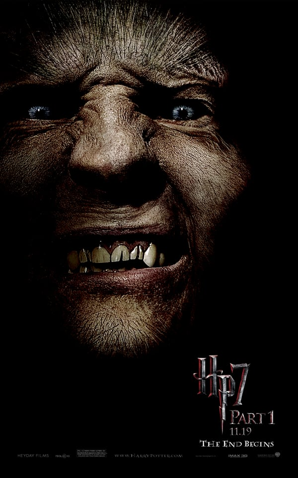 Harry Potter 7 Greyback Poster