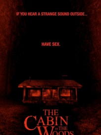 The Cabin in the Woods Sex Poster