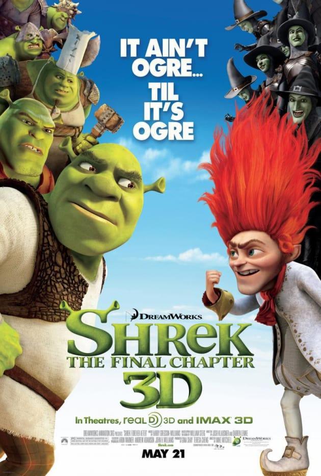 Shrek Forever After: It Ain't Ogre Til It's Ogre Poster