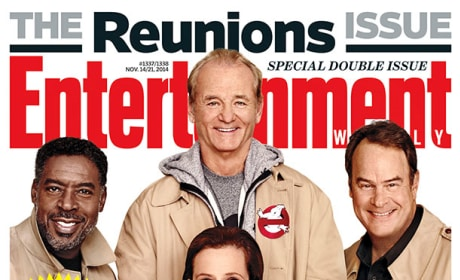 Ghostbusters Reunite: For Entertainment Weekly!