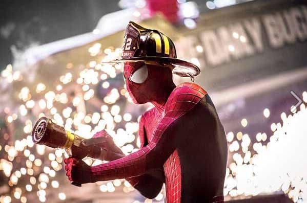 The Amazing Spider-Man 2 Stars Andrew Garfield