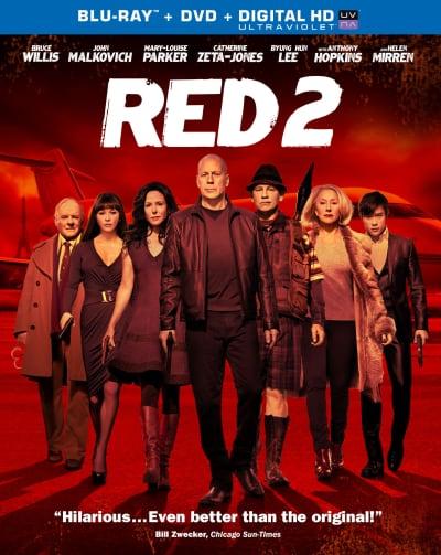 Red 2 DVD