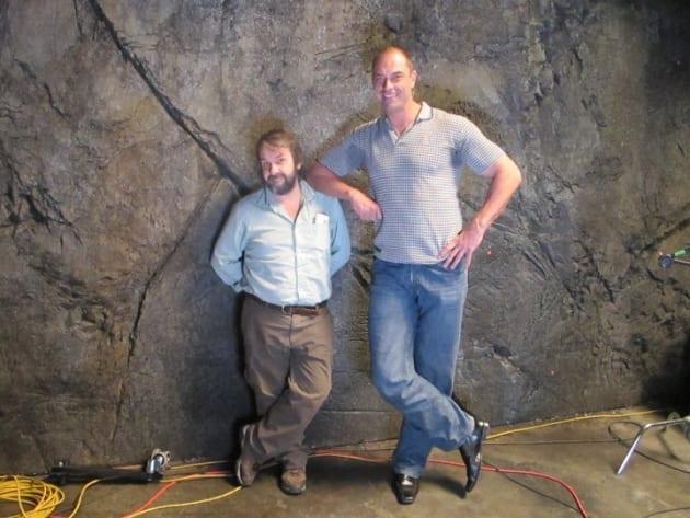 Peter Jackson On Set With Conan Stevens