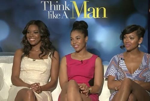 Think Like A Man Book Quotes: Think Like A Man Exclusive: Gabrielle Union, Regina Hall