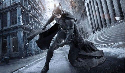 Christian Bale is Batman in Dark Knight Rises