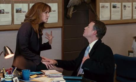 Greg Kinnear and Lea Thompson in Thin Ice