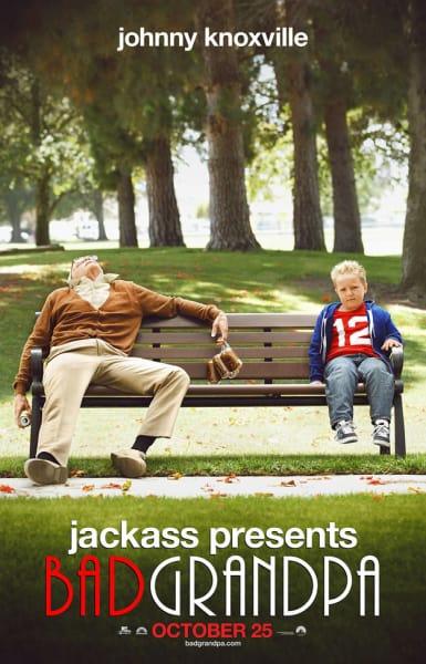 Jackass Presents Bad Grandpa Movie Poster