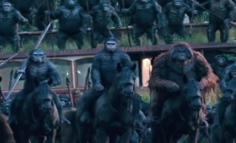 Dawn of the Planet of the Apes TV Spot: Why They're So Scary!