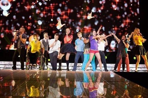 Glee: The 3D Concert Movie Still