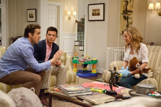 Ryan Reynolds, Jason Bateman and Leslie Mann Change-Up
