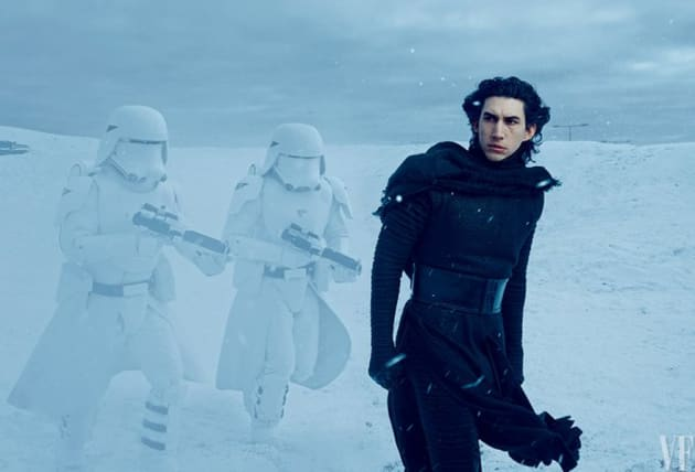 Adam Driver Is Kylo Ren