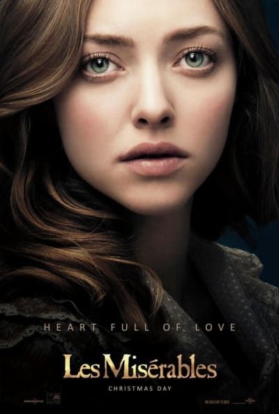 Les Miserables Amanda Seyfried Poster