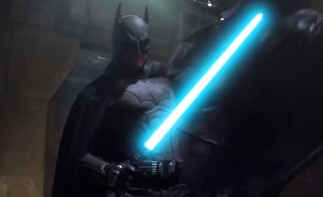 Batman Light Saber Photo