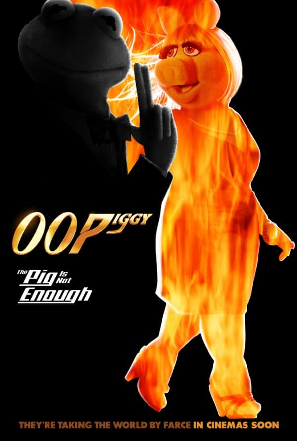 Muppets Most Wanted Pig Is Not Enough Poster