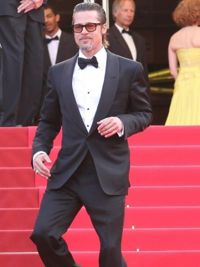 Brad Pitt in Cannes
