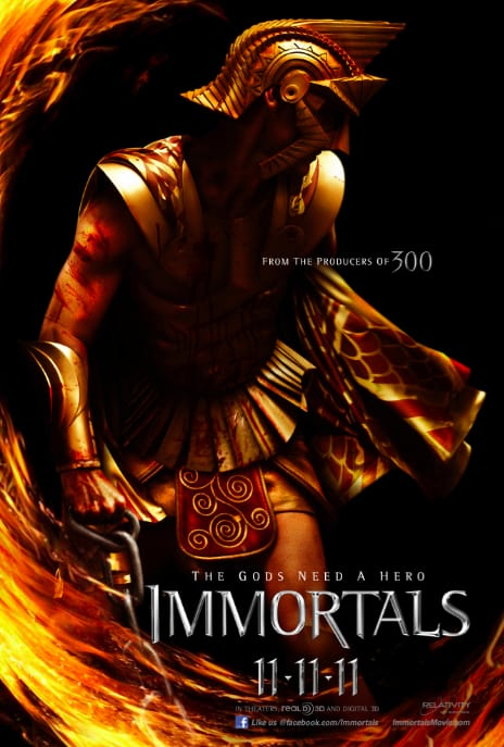 Immortals Character Poster - Zeus