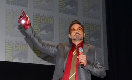 Robert Downey Jr. at Comic-Con