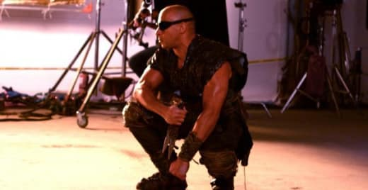 Vin Diesel Riddick Set Photo
