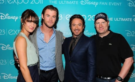 The Avengers Cast Surprises D23 Audience