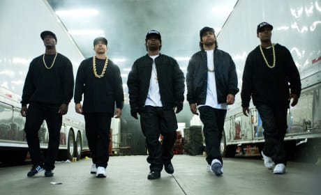 Straight Outta Compton Cast Photo