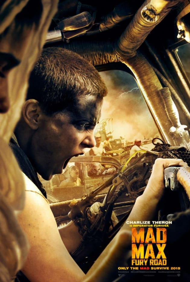 Mad Max Fury Road Charlize Theron Character Poster