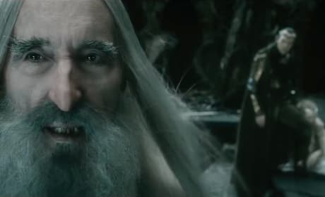 The Hobbit: The Battle of The Five Armies Christopher Lee