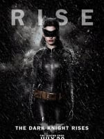 The Dark Knight Rises Rain Character Poster: Catwoman