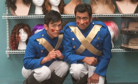 Kal Penn and John Cho in A Very Harold and Kumar 3D Christmas