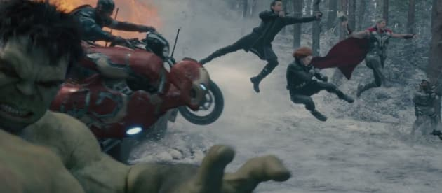 Avengers Age of Ultron Cast Photo Still