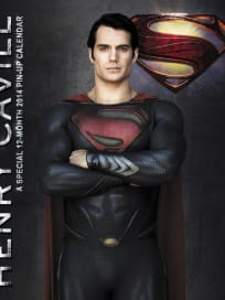 Man of Steel Calendar Henry Cavill