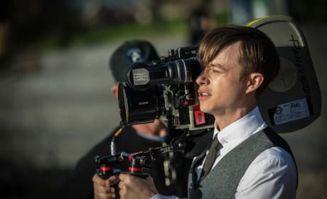 Dane DeHaan Shoots The Amazing Spider-Man 2